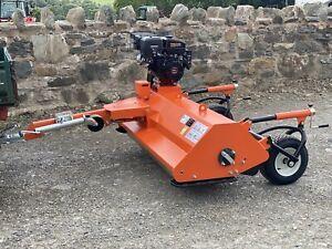Flail Mower Topper ATV120 New Quad Gator Towable Petrol Engine 2 Year Warranty