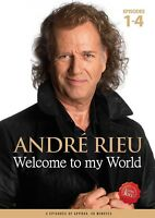 ANDRE RIEU - WELCOME TO MY WORLD   DVD NEW
