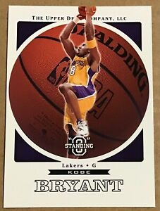 "2003-04 KOBE BRYANT UPPER DECK STANDING ""O"" CARD #33 LOS ANGELES LAKERS"