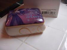 Jessica Galbreth Reach For The Stars Wish Box Ead389 Ceramic Fairy Fairies
