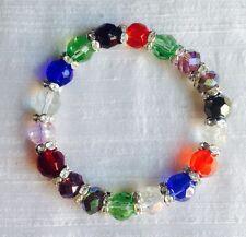 Beautiful Millefiori & Crystal Bracelet Version 1