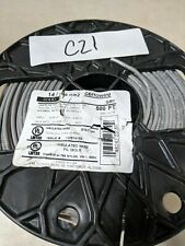 Cerrowire 500 ft. 14/208 mm2 Gray Solid THHN Wire.