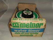 Vintage Melnor Water Timer Model 100 - New in Box