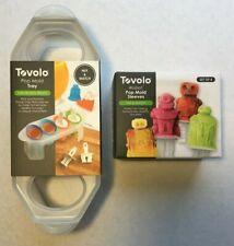 Tovolo Pop Mold Tray & Tovolo Robot Pop Mold Sleeves