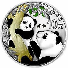 10 Yuan China 2021 Panda Bull&Bear Blueline 2021