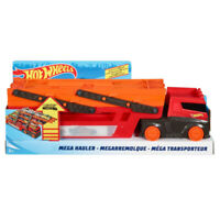 Hot Wheels Mega Hauler with Storage for up to 50 x 1:64 Scale Cars