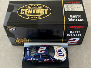 1/64 Rusty Wallace Last Lap Of The Century 1999 Ford Taurus Diecast Car