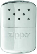 Zippo 6 / 12 Hour Refillable Hand Warmer in Chrome Pocket Sized & Reusable