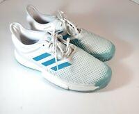 Adidas Tennis Shoes Mens SoleCourt Boost X Parley White Blue Size 14 G26295 NWT