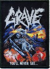 "Grave "" you'll never see...."" Patch/Aufnäher 602555 #"