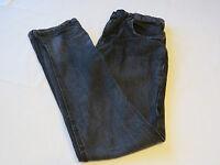 "Boys Hurley pants EUC 20 32"" 79 Slim denim jeans cotton black skate surf Youth"