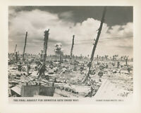 WWII1944 USCG Coast Guard Philippines by Official Photo Marines assault Eniwetok