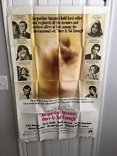 """1975 Original """"ONCE IS NOT ENOUGH"""" Movie Poster 27 x 41 1 sheet"""