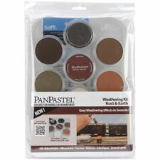 PanPastel Ultra Soft Artist Pastel Set 9ml 7/Pkg-Weathering-Rust & Earth-#30701