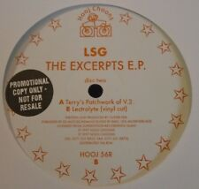 "LSG ~ The Excerpts EP ~ 12"" Single DISC TWO PROMO"