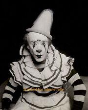 Stunning Vintage 1920 Clown Photo - Circus - Acrobat - Pierrot