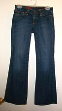 AG Adriano Goldschmied The Club Jeans Sz 26R Low Rise Flare Stretch