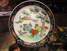 Antique c.1910- 1920 Tezuka Kinsei Yamatoku Hand-painted Bird Japanese Porcelain