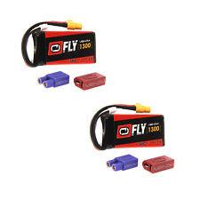 Venom Fly 30C 3S 1300mAh 11.1V LiPo Battery with UNI 2.0 Plug x2 Packs