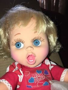 """So Surprised Suzie #2 Baby Face Doll by Galoob 1990 13"""""""