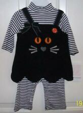 Bonnie Jean Baby Girl Sz 3-6 M Halloween 2 Piece Dress & Romper Set NEW