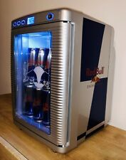 Red Bull Mini Fridge NEW! For Cold Drinks 220V-240V Home Garden / 12V Camper Car