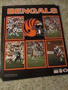 Cincinnati Bengals Football NFL 1988 Poster - Starline