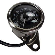 Daytona Motorrad digital Mini Tachometer chrom bis 200 kmh E geprüft