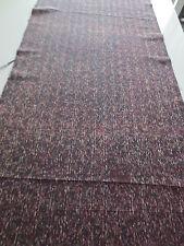 Q Vintage Kimono Quilt Fabric Silk Black Brown Art Classic Style 123cm C99