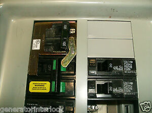 FAC-MUR100S Murray Siemens Generator interlock kit transfer switch 100A Listed