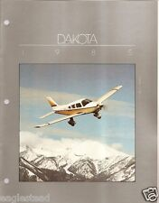 Brochure - Piper - Dakota - 3 items - 1985 (B391)