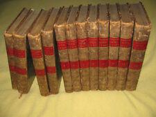 Recueil de discours Parlement Angleterre England Speeches FOX PITT 12 vol. 1822