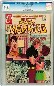 CGC (CHARLTON) LOVE DIARY # 77 WHITE PAGES 1972
