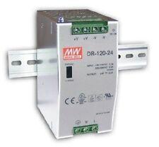 Meanwell Hutschiene - Schaltnetzteil, single output: DR-120-12 : 12V / 10A
