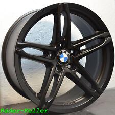 4x Neu Alufelgen 8 + 9 X 18 Zoll BMW 5er F10 GT 3er 90 F30 GT 4er F32 X1 6er F01