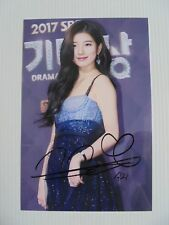 Suzy Bae Miss A 4x6 Photo Korean Actress KPOP auto signed USA Seller SALE Y4