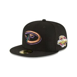 Arizona Diamondbacks New Era 2001 World Series Side Patch 59Fifty Grey UV