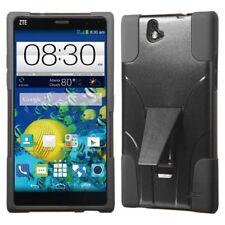 Fundas y carcasas color principal negro de silicona/goma para teléfonos móviles y PDAs ZTE