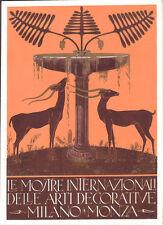 FUTURISMO GIOVANNI GUERRINI FAENZA SU CARTONCINO ARTI DECORATIVE MONZA 1925