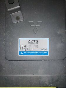 1991-1995 Mazda Bravo B2600i Ford Courier Ranger ECU ECM PCM G630 18 881