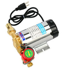 90W 110V Self Priming Shower Washing Machine Automatic Water Booster Pump-Great