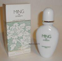 MING DE DYNASTY WOMEN PERFUME PDT 50 ML SPRAY 1.7 FL OZ PARFUM DE TOILETTE NIB