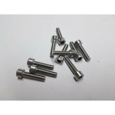 10 Stück Kunststoffschrauben Senkkopf DIN 965 Polyamid PA 6.6 natur M6X25