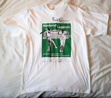 Cricket Weekend Legends T-Shirt  signed by Notts legend Richard Hadlee