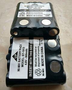 2x Battery For Uniden BP-38 BP-40 BT-537 BT1013 GMR648 GMR680 800mAh BT-1013