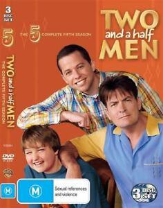 Two And A Half Men: Season 5  (DVD) - Region 4 - Good Condition