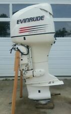 """2003 Evinrude 150 hp DI with 25"""" shaft, power tilt & oil injection  -LIVE VIDEO"""