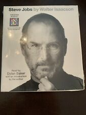 NEW SEALED - STEVE JOBS BIOGRAPHY by WALTER ISAACSON 7cd Set