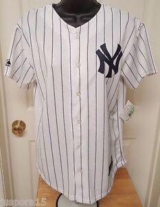 Majestic NWT Boys Girls New York Yankees Masahiro Tanaka 19 Jersey Size L 14 16