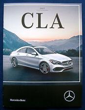 Prospekt brochure 2017 Mercedes CLA (USA)